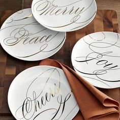 beautiful dessert plates from west elm