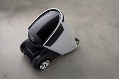 AUDI R0 - Denis Zhuravlev (Russia) Id Design, Robot Design, Design Cars, Delivery Robot, Industrial Design Sketch, Futuristic Cars, Futuristic Design, Car Design Sketch, Smart Car