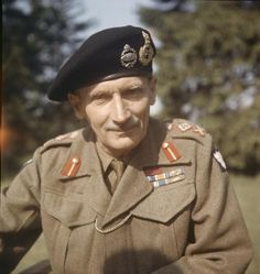 Bernard Montgomery - a summary - History in an Hour Bernard Montgomery, Black Berets, Important People, British Army, North Africa, Military History, World War Two, First World, Ww2