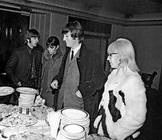 #Ringo Starr  #Maureen Starkey  #John Lennon  #Cynthia Lennon  #John Bates  #Jean Varon (1280×1107)