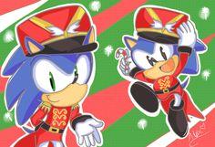 Sonic Xmas Wallpaper