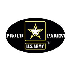 CafePress  US Army Proud Parent Sticker  Oval Bumper Sticker Euro Oval Car Decal ** For more information, visit image link.