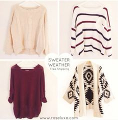 Sweaters!