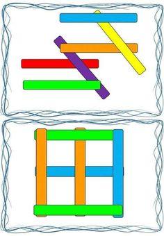 Montessori Activities, Preschool Activities, Pop Sicle, Block Play, Busy Boxes, Working Memory, My Little Baby, Pattern Blocks, Fine Motor Skills