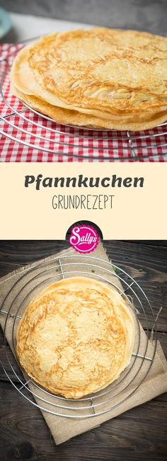 Pfannkuchen Grundrezept / Basics / Polles Pannenkoeken Efteling Have you always wanted to prepare delicious pancakes? Then try the Dutch basic recipe of Polle from the Efteling amusement park. Pancake Healthy, Best Pancake Recipe, Pancake Recipes, Tasty Pancakes, Homemade Pancakes, Pancakes From Scratch, Dutch Recipes, Vegetarian Recipes, Food Porn