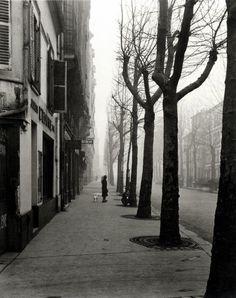 Louis Stettner - Avenue de Chatillon, 14th Arrond., Paris, ca. 1949