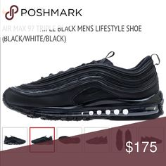 purchase cheap e137c c443a Brand New Men s Nike Air Max 97 in Triple Black NIB, Size 8 Never been