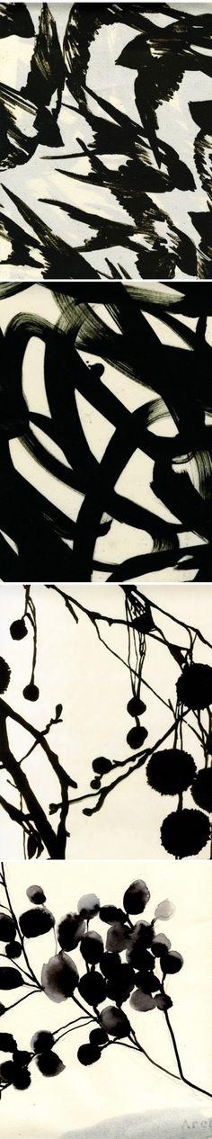 luli sanchez - textile design (black & white)