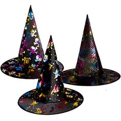 Halloween Witch Hats For Kids Costume Accessory Cap Party Cosplay Props, 3 Pack Witch Costumes Halloween Witch Hat, Witch Hats, Witch Costumes, Kids Hats, Costume Accessories, Cap, Cosplay, Party, Baseball Hat