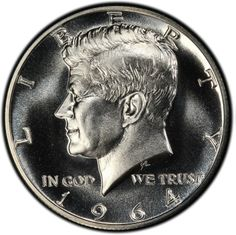 To celebrate the show's 50th anniversary, the Long Beach Coin, Currency, Stamp & Sports Collectible Expo, January 30 - February 1, 2014, will hold daily drawings to give away PCGS-certified 1964 Mint State and proof silver Kennedy half dollars to lucky, registered visitors.  (Photo credit: PCGS CoinFacts.)