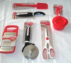 Betty Crocker Silicone Basting Brush Silicone Double Spatula RED Essentials Kit
