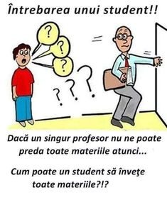 =))))) bună intrebare(asta ma întreb eu in fiecare zi ) Funny Texts, Haha, Crafts For Kids, Jokes, David, Facts, Student, Humor, Comics