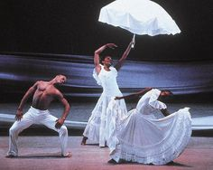 """Alvin Ailey (""""Revelations"""") The most moving, exhilarating, inspiring, beautiful dance performance I have ever had the pleasure to see."""