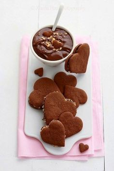 Chocolate hearts