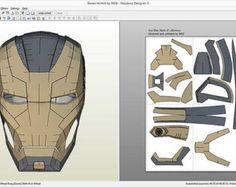 Il vestito portabile Ultron Prime da «Avengers: età di Ultron» Mio modello e svolgersi. Formato: File Pepakura v. 3 DOP Schiuma si dispiegano (7-10 mm). Dimensione predefinita è 185 mm altezza (wearable per 175-190mm altezza umana). Casco e guanti non inclusi. Si tratta di schiuma semplificata dispiegarsi.  Pacchetto ZIP incluso: • File PDO • PDF per gli utenti Mac • Dimensioni full HD anteprime, tutti i lati (3200x1700px)