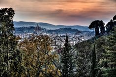 Views from Il Salviatino Luxury Hotel, Florence. (1) | da Luxury Hotel Il Salviatino Florence