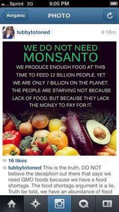 No Monsanto