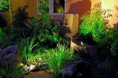 Landscape lighting asian landscape