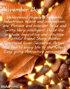 For November born only