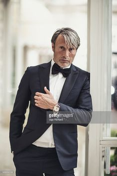 Actor Mads Mikkelsen is photographed for Self Assignment on May 2016 in Cannes, France.