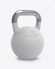Iron Weight Mockup – Half Side View