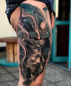 Japanese Tattoo Koi, Japanese Tattoos For Men, Japanese Tattoo Designs, Japanese Sleeve Tattoos, Tribal Arm Tattoos, Dope Tattoos, Forearm Tattoo Men, Leg Tattoos, Tattoos For Guys