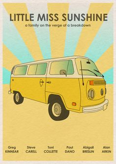 Movie Poster Print Little Miss Sunshine by MonsterGallery