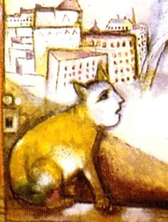 Paris Through the Window.  Marc Chagall