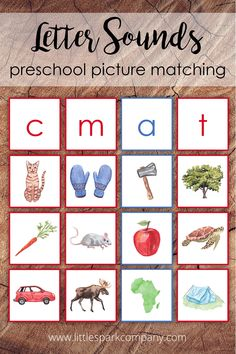 This activity for children who are familiar with or learning their letter sounds. It includes 26 letter cards, 3 digraph cards and 129 beautiful watercolour images. Each image has been chosen for its phonetic representation of its beginning letter sound. Montessori Color, Montessori Homeschool, Watercolor Images, Watercolour, Language Activities, Activities For Kids, Preschool Pictures, Alphabet Cards, Preschool Letters