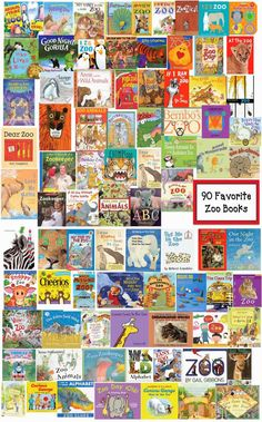 Classroom Freebies: Alphabetical List of 90 All-Time Favorite Zoo Books