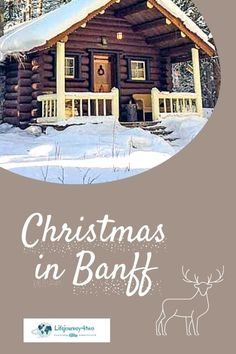 What to do at Christmas in Banff National Park, Canada. Travel to a magical wilderness of mountain peaks and frozen lakes, of special wildlife encounters and fairytale forests. Banff National Park, covered in a blanket of snow and twinkling lights, will capture your heart and give you forever memories. Read this article which delivers the magic of this winter wonderland. #christmasinbanff