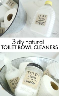 3 Natural Toilet Bow