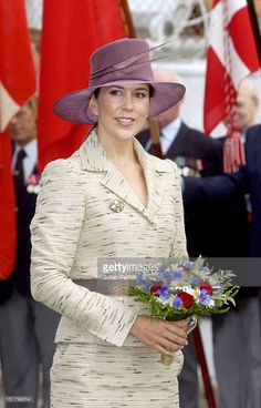 July 27, 2004--Crown Prince Frederik & Crown Princess Mary Of Denmark Visit Aalborg During A 4-Day Trip On The Royal Yacht Danneborg.