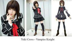 """Yuki Cross from the anime of """"Vampire Knight"""""""