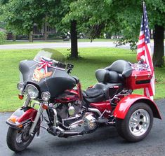 Motorcycle trike picture of a 1999 Harley-Davidson Electra Glide w/Frankenstein Trike Conversion