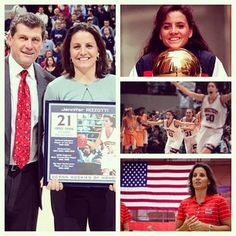 Former UConn great Jen Rizzotti - Women's Basketball Hall of Fame Class of 2013!