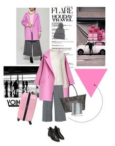 """""""Travel in Style, Holiday Edition"""" by lacas ❤ liked on Polyvore featuring La Vie en Rose, RED Valentino, Hello Kitty, 3.1 Phillip Lim, travel, travelinstyle, yoins and Christmas2015"""