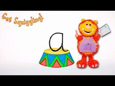 Get Squiggling Letters | Letter A - YouTube