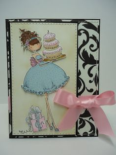 Uptown Girl Ava Loves to Celebrate - Stamping Bella