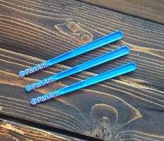 Vintage Pan Am Airlines Plastic Swizzle Stir Sticks - Barware. Collectibles, Party Supplies, Home Decor Party Supplies, Craft Supplies, 1950s Pin Up, Red Rose Tea, Pan Am, Stir Sticks, Hair Barrettes, Blue And Silver, Red Roses