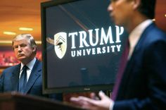 Trump University staff included a child molester and a cocaine trafficker:  Only the finest people were chosen