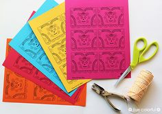 Free Printable: Day of Dead Mini Papel Picado | Live Colorful