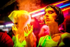 Victor Dragonetti's street scenes are colorful, and complex, with an air of mystery that evokes different responses from viewers. Bedtime Stories, Ny Times, Mystery, Magic, Poses, Street, Concert, Photography, June