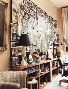 Drew Barrymore's office at Flower Films - from Domino magazine