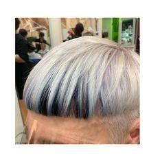 Hair bicolored