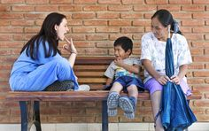 Did you know that children born with cleft lip and palate have difficulty speaking?    Operation Smile's volunteer speech-language pathologists carefully assess a child's speech and language skills and provide parents practical techniques to help their children at home.