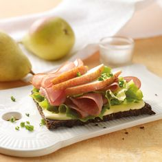Fruitig broodje ham Weith Watchers, Weight Watchers Lunches, Healthy Recipes, Healthy Foods, Avocado Toast, Healthy Living, Good Food, Food And Drink, Breakfast Ideas