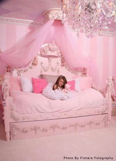 # HOME BEDROOM FIT FOR A PINK PRINCESS