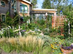 If only my garden could look like this! Findhorn Gardens