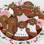 gingerbread cookies by Glorious Treats